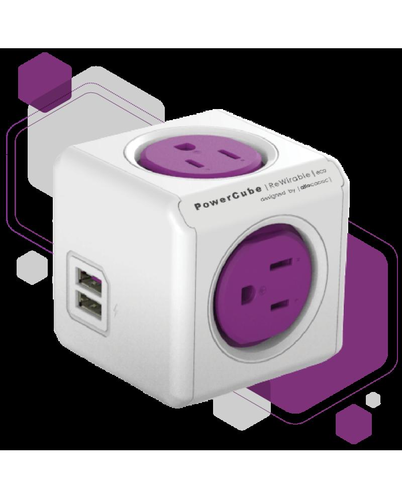 PowerCube Rewirable USB + 4 adaptadores